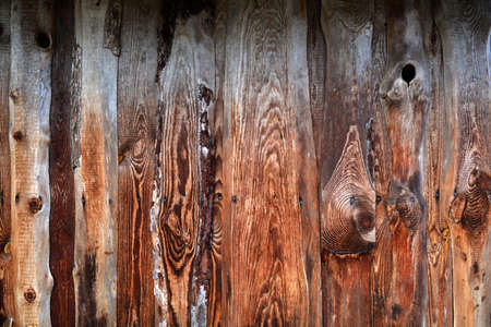 Old barn wall planks wooden background and texture Stock Photo