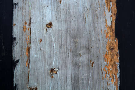 painted old wooden wall, cracked abstract background