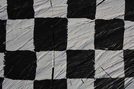 cracked wooden chess style background and texture