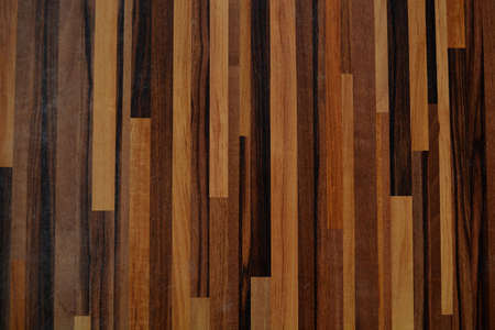 Glued brown wood tabletop vintage abstract background and texture