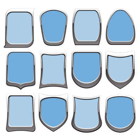 badges set  3  Vector
