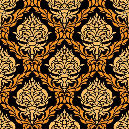 repeating: damasc seamless pattern