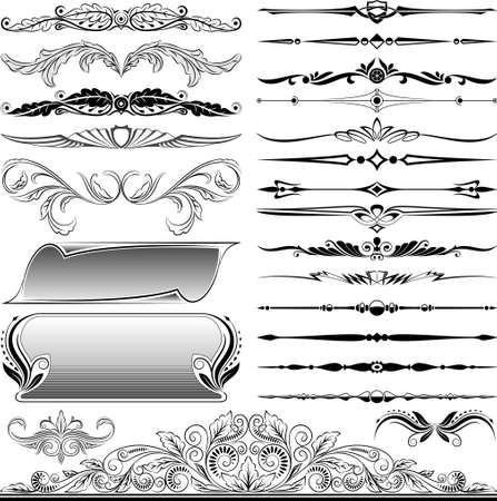 design elements Stock Vector - 13259608