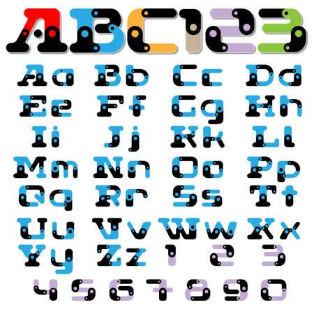 ciphers: font