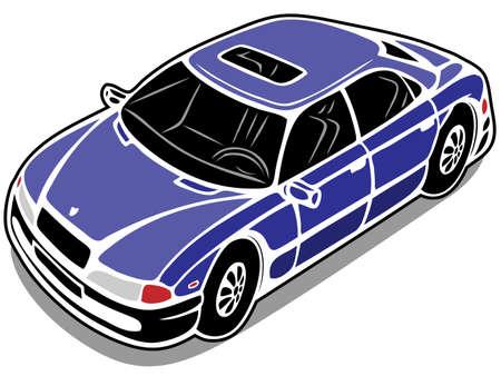 car Stock Vector - 13481674