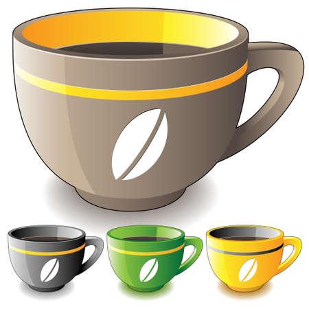 unwind: coffee cup Illustration