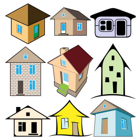realty residence: houses set