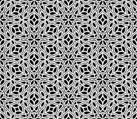 vintage weaving: abstract seamless pattern Illustration