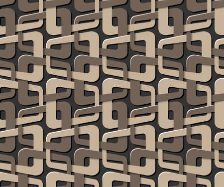 simple geometry: abstract seamless pattern Illustration