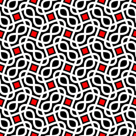 geometrical: abstract seamless pattern Illustration