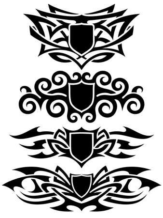 crimp: tattoo set