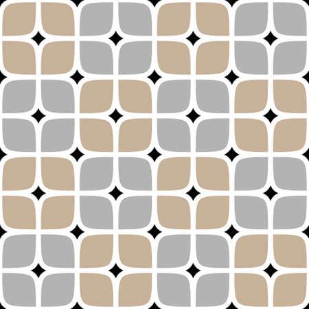 modern illustrations: checkered seamless pattern Stock Photo