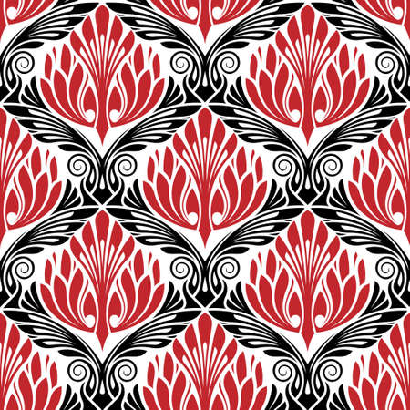 damasc seamless pattern photo