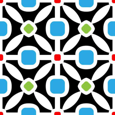 geometric patterns: abstract seamless pattern Illustration