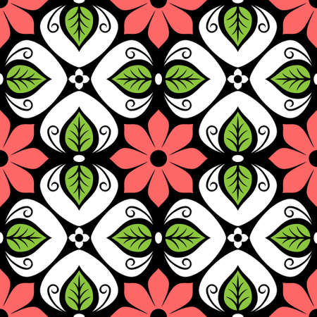 textile image: abstract seamless pattern Illustration