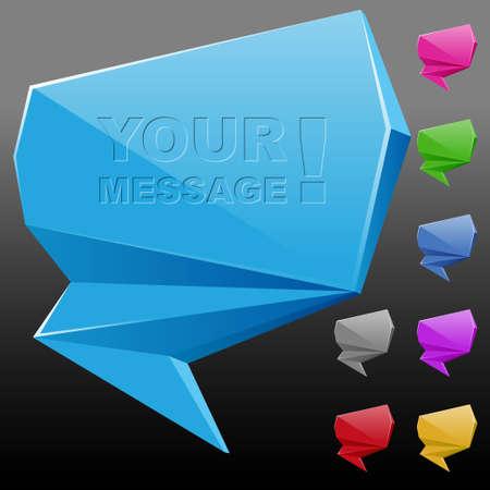 speech bubble Stock Vector - 15238585