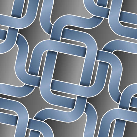 intersect ribbons seamless pattern