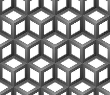 abstract cubes seamless pattern Stok Fotoğraf - 15238597