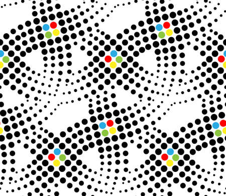 repeating pattern: abstract seamless pattern Illustration
