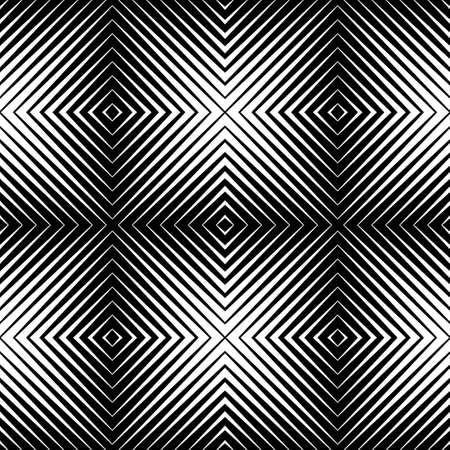 arte optico: patrón transparente abstracta Vectores