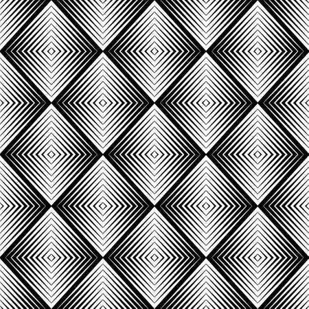 optical blur illusion seamless pattern Vector