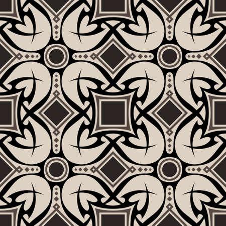 물결: 추상 원활한 패턴