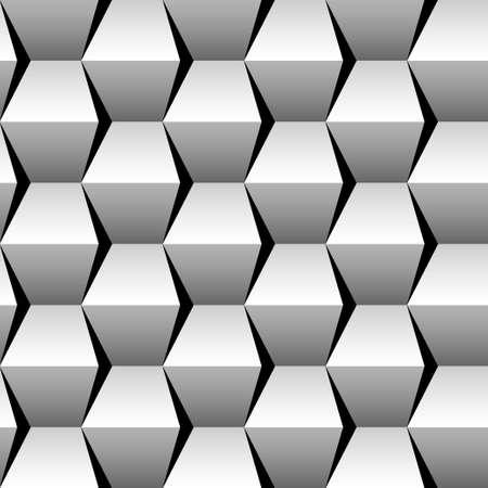 stacked cubes seamless pattern Stok Fotoğraf - 15618818