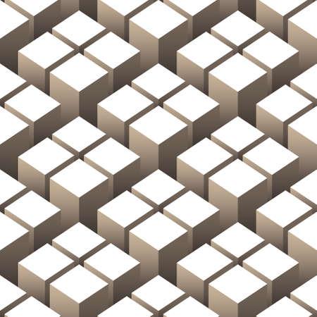 キューブのシームレス パターン