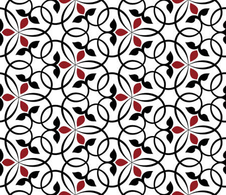 abstract seamless pattern 向量圖像