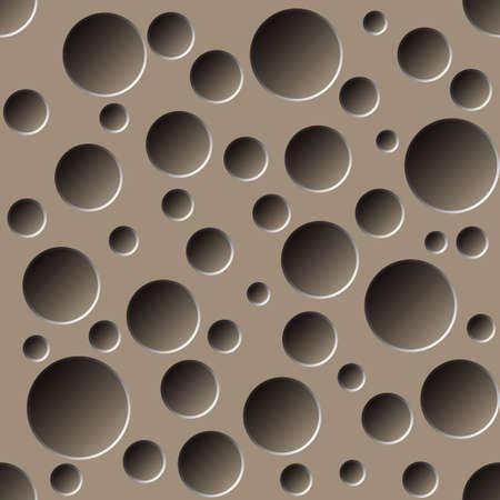 穴あきのシームレスなパターン  イラスト・ベクター素材