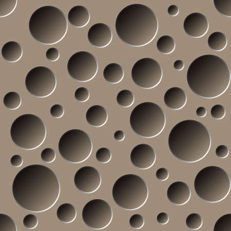 arte optico: patrón transparente perforada Vectores