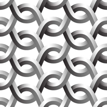 metal: metal grid seamless pattern