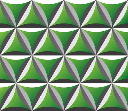 engraved green surface seamless pattern Vector