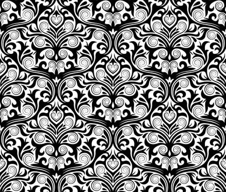 damask seamless pattern Stock Vector - 15930817