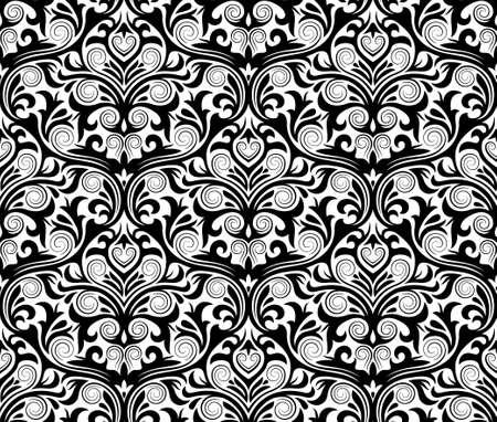 damask seamless pattern Stock Vector - 15930817