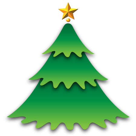 christmas firtree Stock Vector - 17417927