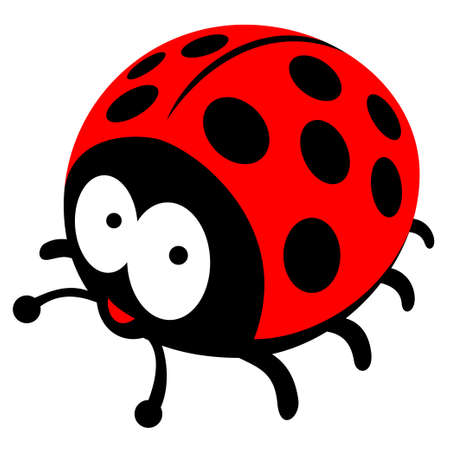 lady beetle: ladybug Illustration