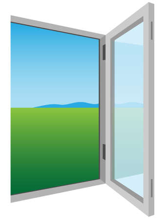 open window: opened window