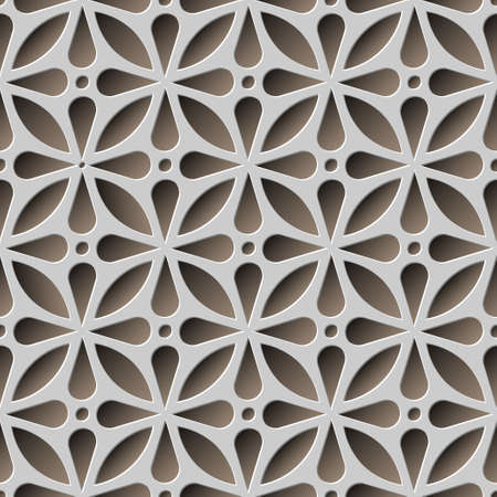 abstract seamless pattern Ilustração