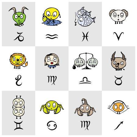zodiac signs Stock Vector - 17417820