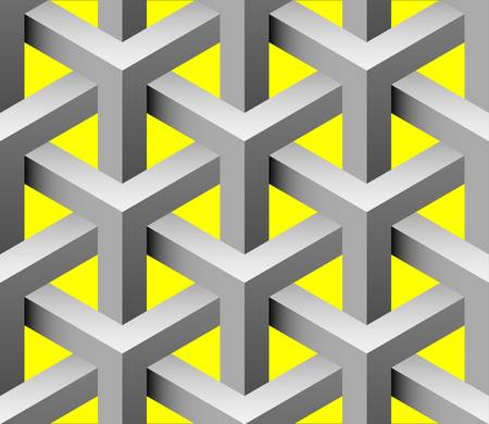 interlace: 3d interlace seamless pattern Illustration
