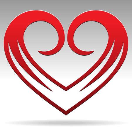 kalp: kalp şekli işareti