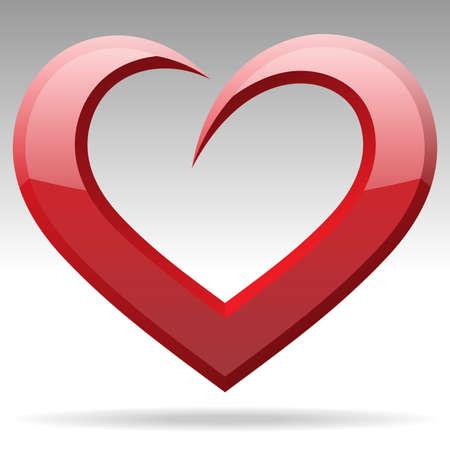 heart shape object Stok Fotoğraf - 17416540