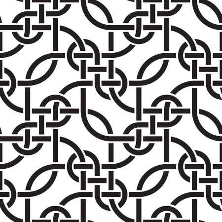 plaited: tejer las l�neas de patr�n transparente