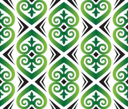 twirls: seamless pattern