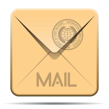icona busta: sull'icona della busta di posta
