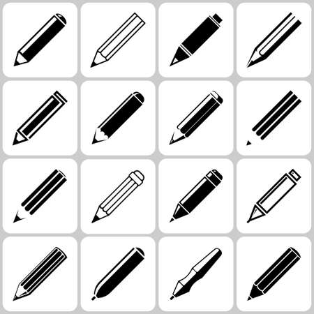 鉛筆のアイコンを設定