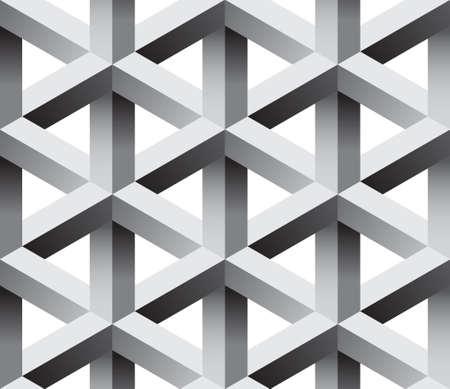 arte optico: patrón transparente abstracto