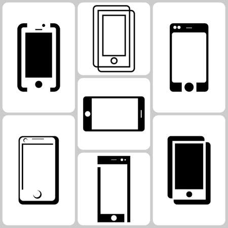 digitizer: Smartphone Icons Set