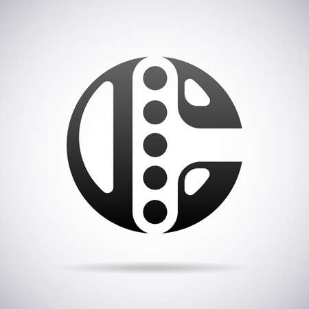 c design: Vector logo for letter C design template Illustration